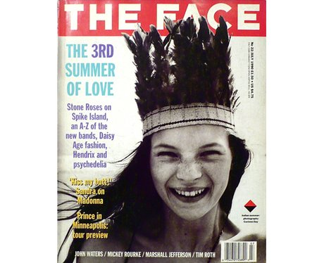 The Face Kate Moss cover