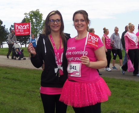 Fancy Dressing Ladies - Heart at Aylesbury Race fo