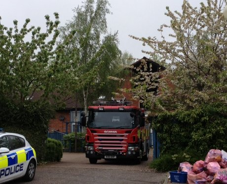 Great Linford House Fire