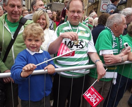 Heart & Yeovil FC Parade