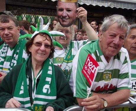 Heart & Yeovil FC Parade