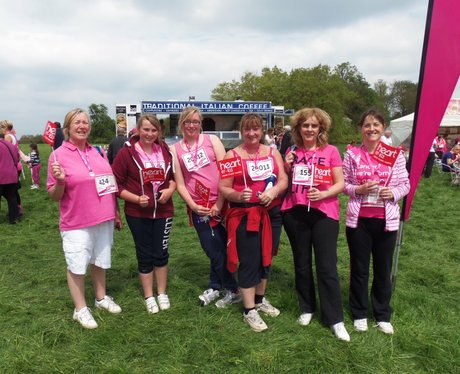 Medal Time - Aylesbury Race for Life 19/05/2013