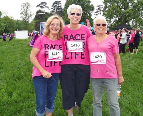 Pink Ladies Fighting Cancer in Aylesbury 19/05/201