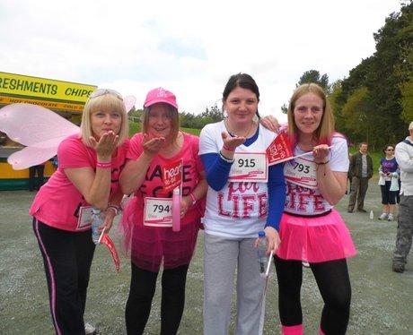Race For Life Delamere 2013
