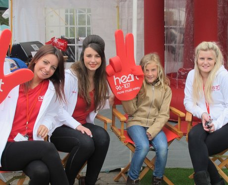 The Heart Angels know how to party and it turns out so do our listeners!