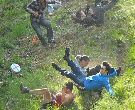 Cheese Rolling at Cooper's Hill 2013