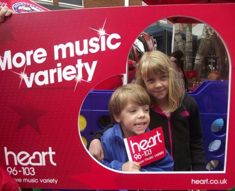 Heart at Taunton Family Fun Day