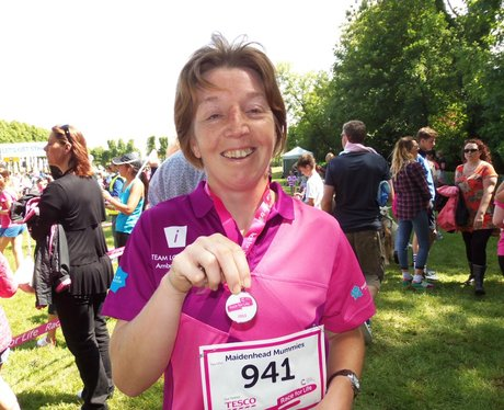 Medal Time  - Windsor Race for Life 1/06/2013