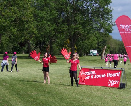 Windsor Race for Life - Cheering Zone 1/06/2013