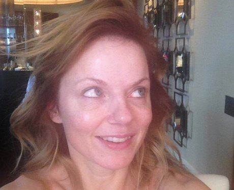 Geri Halliwell with no make up