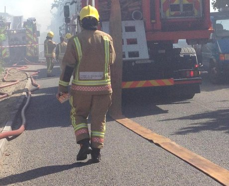 Ketteringham fire 9