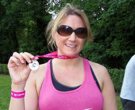 Medal Time  - Windsor Race for Life 2/06/2013