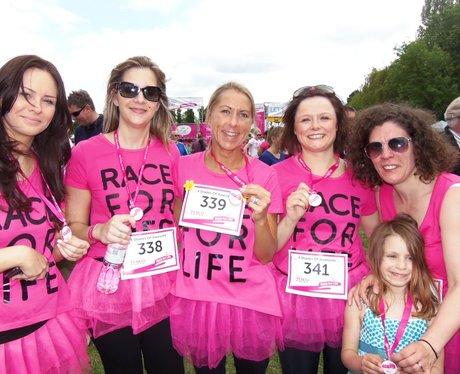 Medal Time  - Windsor Race for Life 2/06/2013