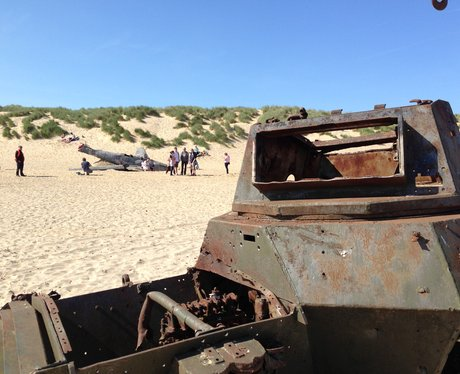 Film set in Camber Sands