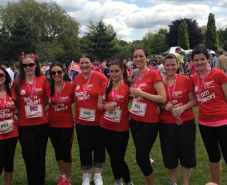 Were you at Horsham Race For Life? If so did you s