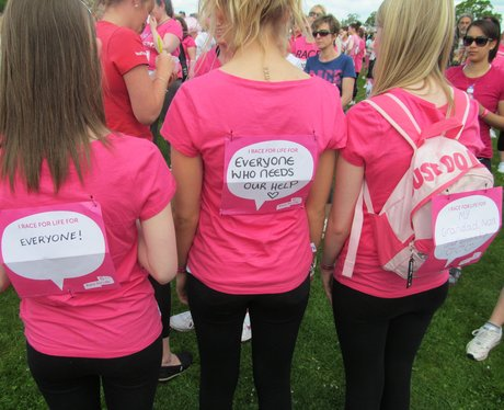 Race for Life Swindon Messages AM