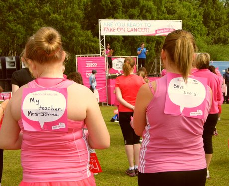 Race For Life Wrexham