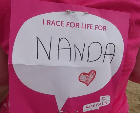 Race for Life WSM - Your Messages
