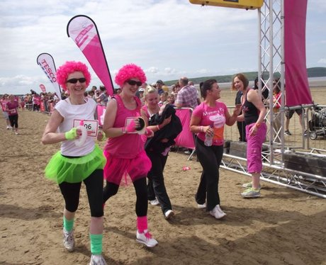 Race for Life WSM The Finish