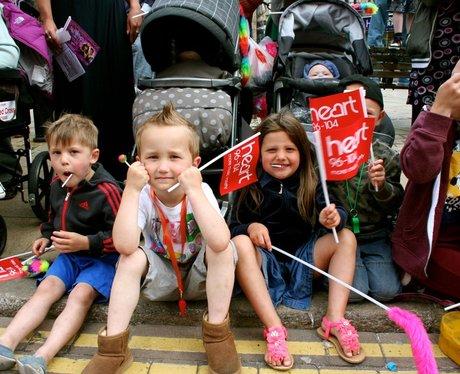 Smiles At Northampton Carnival