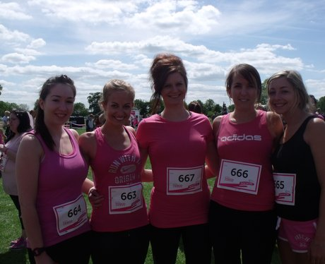 Swindon Race for Life 2013 PM Before
