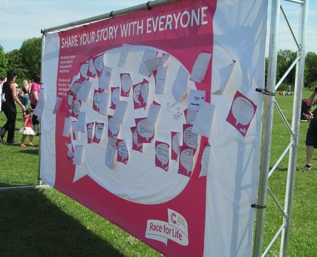 Swindon Race for Life 2013 PM Messages