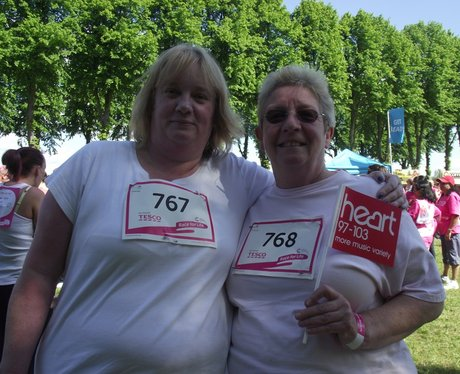 The Pink Ladies - Windsor Race for Life 2/06/2013