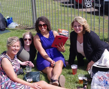 Worcester Racecourse Ladies Day with Heart