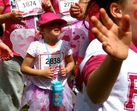 A Very Pink Northampton Race for Life
