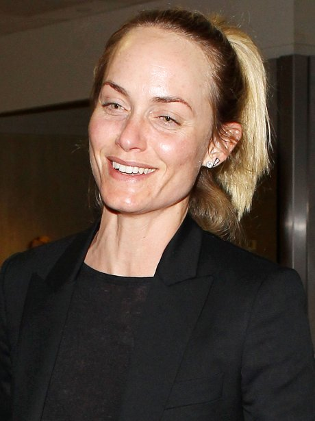 Amber Valletta with no make up
