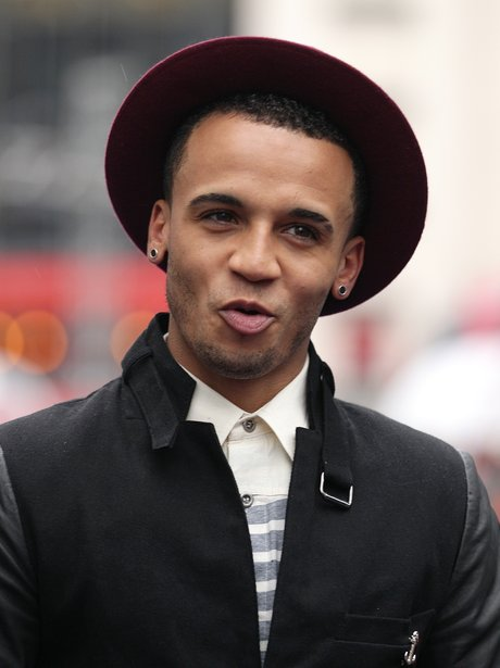 Aston merrygold at premiere