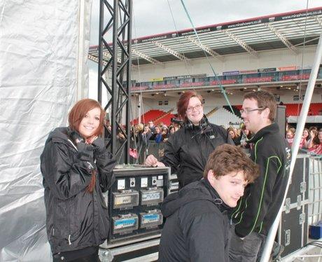 McFly Backstage