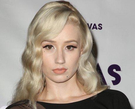 Iggy Azalea with makeup