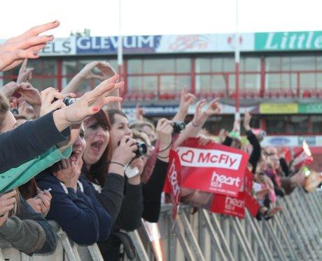 McFly at Kingsholm 2013