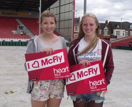 McFly Kingsholm 2013