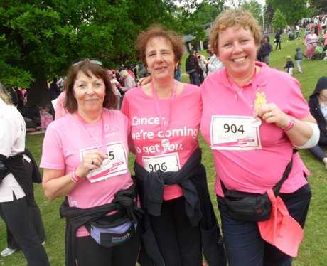 Race for Life - Royal Tunbridge Wells - The Medals