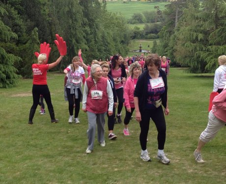 Race for Life Royal Tunbridge Wells - Cheer Zone