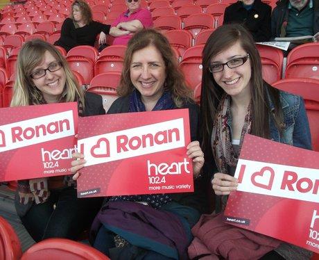 Ronan at Kingsholm 2013