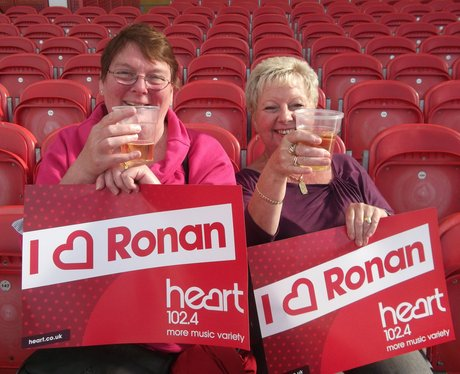 Ronan at Kingsholm 2013