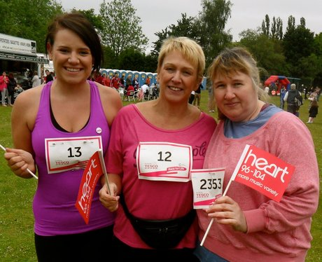 Smiles at Welwyn & Hatfield Race for Life