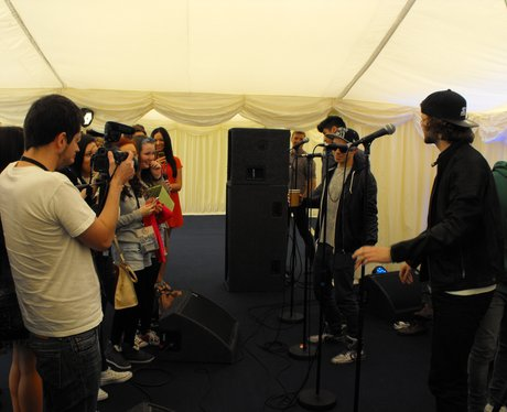 Backstage at Chester Rocks