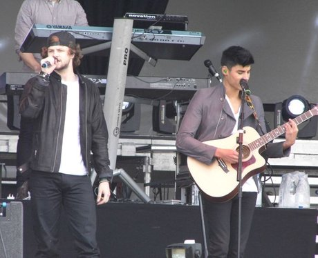 The Wanted Soundcheck