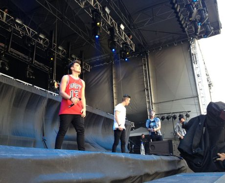 Union J at Chester Rocks