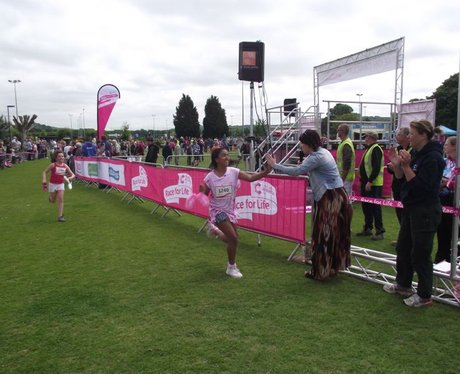 Winchester Race For Life Finish Line