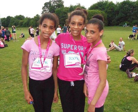 Basingstoke Race for Life - Medal Time 19/06/2013