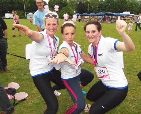 Basingstoke Race for Life - Medal Time 19/06/2013