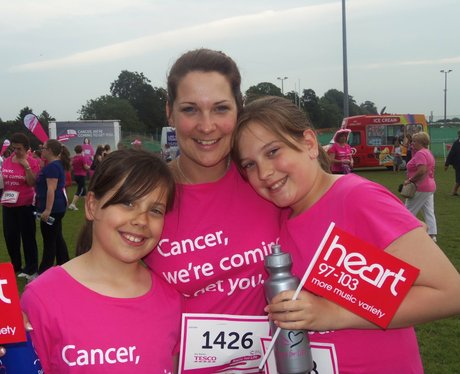 Basingstoke Race for Life 19/06/2013