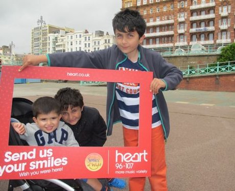 Did you see the Heart Angels in Brighton?
