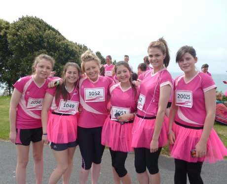Folkestone Race For Life - Pre Race!