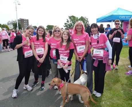 Folkestone Race For Life - Pre Race!